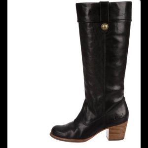 Coach black Fayth tall Boot size 9.5